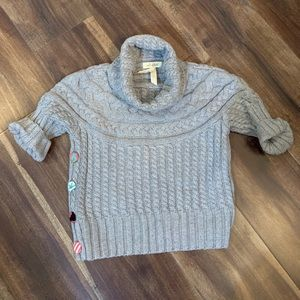 Matilda Jane Grey Turtle Neck Layering Sweater